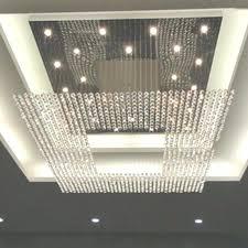 modern crystal chandelier new square modern string big crystal chandeliers hotel lobby regarding big modern crystal