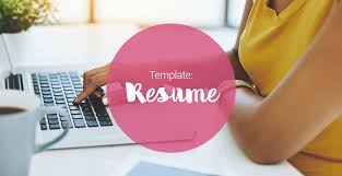 Resume Free Template Free resume template - SEEK Career Advice
