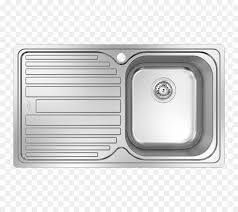 sink tap countertop plumbing fixtures stainless steel top view furniture kitchen sink png 800 800 free transpa sink png