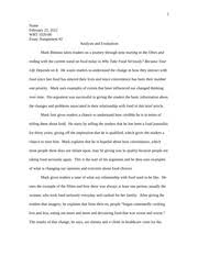 midterm writing reflection essay example that was difficult 4 pages literary analysis essay example