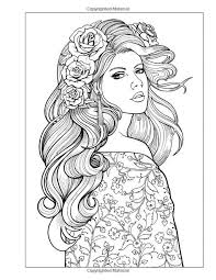 beautiful girl coloring pages. Brilliant Girl Color Me Beautiful Women Of The World Adult Coloring Book Jason  Hamilton 9781944845001 Amazoncom Books And Beautiful Girl Pages E