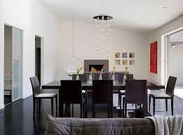 dining room lighting no chandelier. dining room lighting designs hgtv. source · stylish 1950s house makeover in palo alto no chandelier