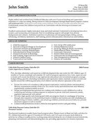 permalink to early childhood education resume samples child development resume