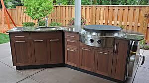 Outdoor Kitchen Storage Furniture Outdoor Kitchen Furniture Ideas