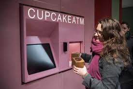 Cupcake Vending Machine Houston Fascinating Sweet Tooth Fix In Seconds Cupcake ATM Praise Cleveland