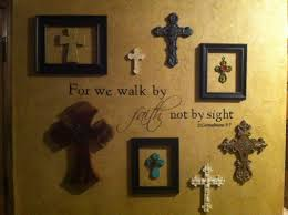 wall of crosses i like the idea of adding frames around some of inspiration of cross wall decor of cross wall decor inspiration web design cross wall decor