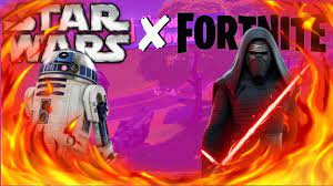 Star wars x fortnite gameplay ...