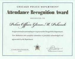 Best Photos Of Attendance Recognition Template Attendance Award