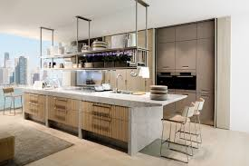 Rectangle Kitchen Design Inviting Rectangle Kitchen Island Design With Brown Granite