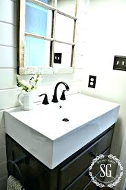 bathroom farm sink. Pegasus Vessel Sink Farmhouse Bathroom Vanity Medium Size Of Sinks Black Farm H