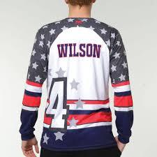 Mens Softball Jersey Designs Move U American Custom Long Sleeve Softball Team Jersey