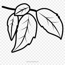Leaves Coloring Page Dibujo Hojas Para Colorear Free