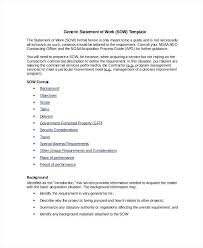 Statement Of Work Template Pdf Statement Of Work For Construction ...