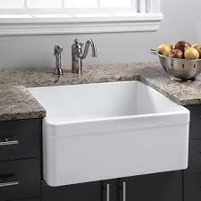 White Enamel Kitchen Sinks Crack Porcelain Kitchen Sink Solution Kitchen Studio