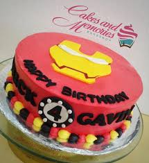 Iron Man Character Cake Cakes And Memories