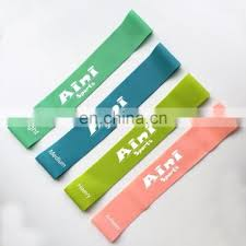 Stretch Band Loops Exercise Chart Mini Resistance Band Loop Exercise Bands Set Of 5 With