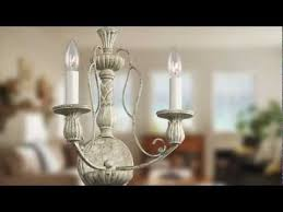 for hayman bay six light distressed antique white chandelier