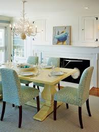 Colorful Dining Room Tables Unique Decorating Ideas