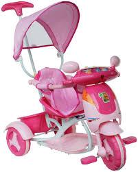 Triciclo hyppo rosa con manico luci e suoni italtoys italtoys