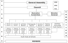 Cyprus Red Cross Society Organizational Structure