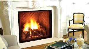cleaning gas fireplace glass with windex how do you clean doors inside majestic