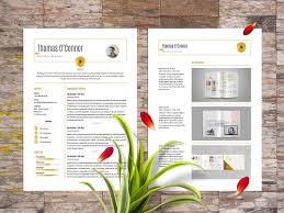 Modern Resume How Far Back Work History Free Modern Resume Template Stockindesign