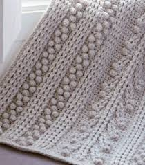 Crochet Patterns Inspiration Free Crochet Pattern For A Chunky Bobbled Blanket ⋆ Crochet Kingdom