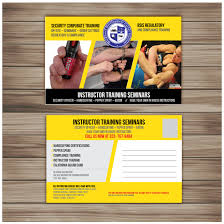 Design Your Own Office Delectable Bold Modern Security Postcard Design For Public Safety Institute