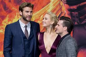 Jennifer Lawrence Liam Hemsworth Josh Hutcherson Shine At