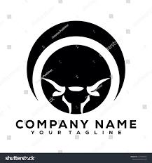 Logo Design Buffalo Ny Buffalo Bulls Black Vector Icon Logo Stock Vector Royalty