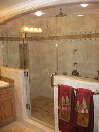 bathrooms designs. Bahtroom Nice Tiled Bathrooms Designs With Cozy Walk In Shower Simple