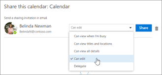 calendar that i can edit calendar delegation in outlook on the web outlook