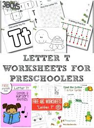 Free Letter C Worksheets Preschool Tracing And Writing The T L Is ...