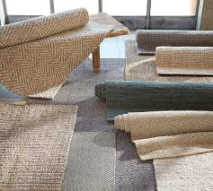 excellent wool and jute rug chevron mocha pottery barn au