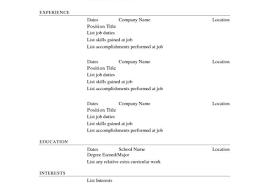 Resume Free Resume Builder Resume Template Resume Maker App Free