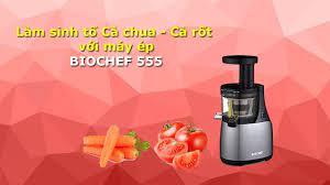 Máy ép trái cây chậm BioChef 555 (Đỏ)