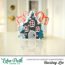 Candy Cane House Decorations Court's Crafts Candy Cane House 86
