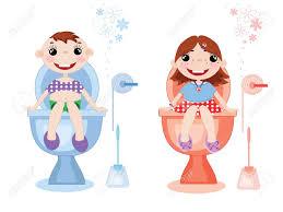 Boy Bathroom Sign Toilet Symbolsvector Royalty Free Cliparts Vectors And Stock