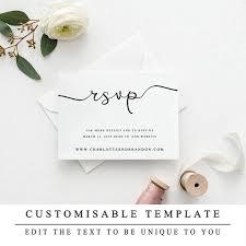 Wedding Website Template Best RSVP Website Template Instant Download Wedding Website RSVP