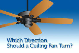which direction should a fan turn which way does fan spin in summer which direction should
