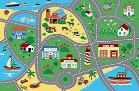 city street map children carpet classrooms play mat area rug contemporary kids rugs by furnishmyplace