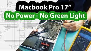 Macbook Pro No Power Light