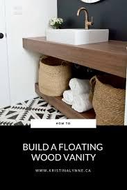 Image Floating Shelf Diy Floating Vanity Floating Vanity How To Kristina Lynne How To Diy Your Own Floating Vanity Kristina Lynne