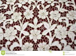 Gunold Machine Embroidery Designs Richelieu Embroidery Floral Pattern Stock Photo Image Of