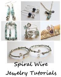 spiral wire jewelry tutorials