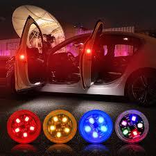 NEW LED <b>Car</b> Door <b>Opening</b> Warning Lights <b>Wireless Magnetic</b> ...