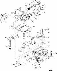 mercruiser 4 3l gen ii 2 barrel gm 262 v 6 1993 1995 engine section