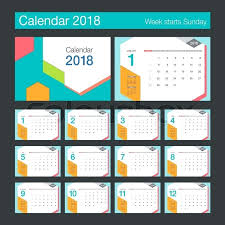 Indesign Calendar Template Extraordinary Calendar Design Calendar Desk Calendar Modern Design Template Week