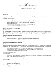 Senior Product Manager Resume Sample Templates At