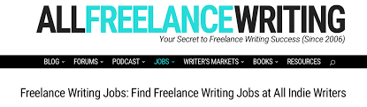 places to lance writing jobs all indie writers